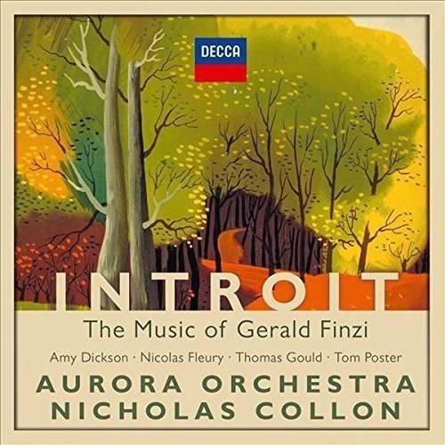 Aurora Orchestra & Nicholas Collon Introit Music Of Gerald Finzi Import Gbr