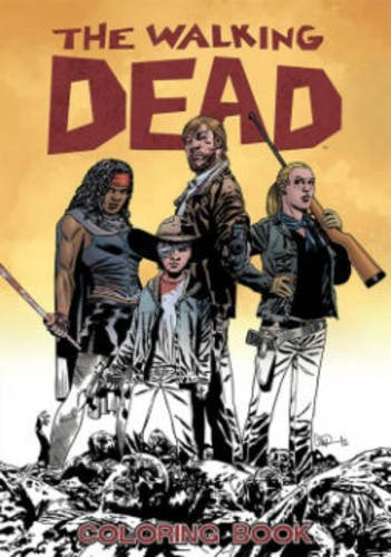 Robert Kirkman The Walking Dead Coloring Book