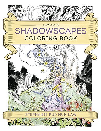 Stephanie Pui Law Llewellyn's Shadowscapes Coloring Book
