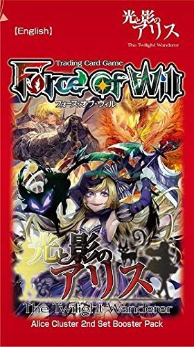 Force Of Will Cards Twilight Wanderer Booster Pack Alice Cluster