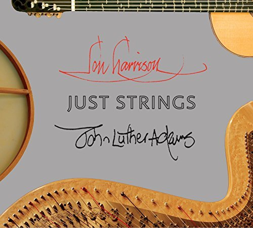 Harrison Adams Just String Works For Harp Guitar & Percus
