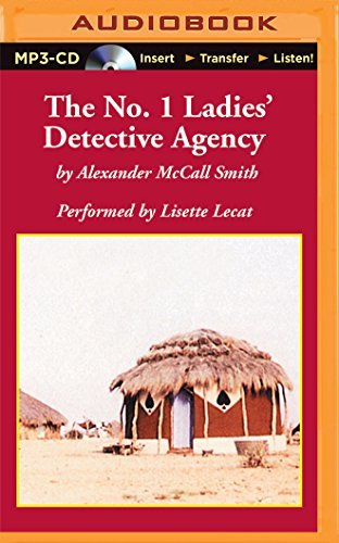 Alexander Mccall Smith The No. 1 Ladies' Detective Agency Mp3 CD