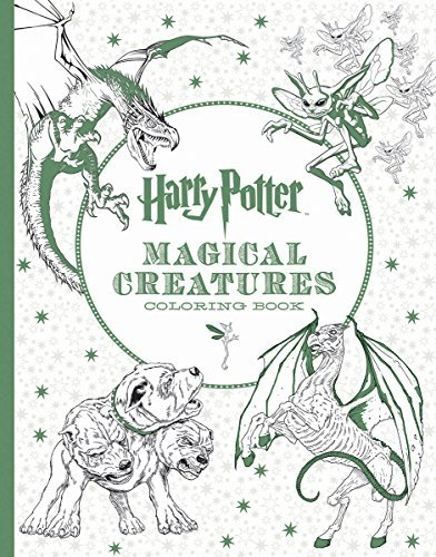 Inc Scholastic Harry Potter Magical Creatures Coloring Book