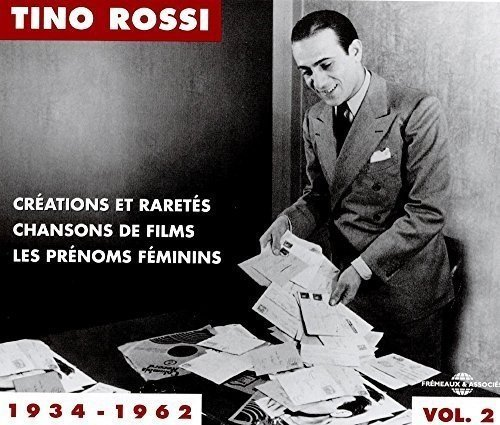 Tino Rossi Anthology 1934 1962 Vol 2 Import Fra