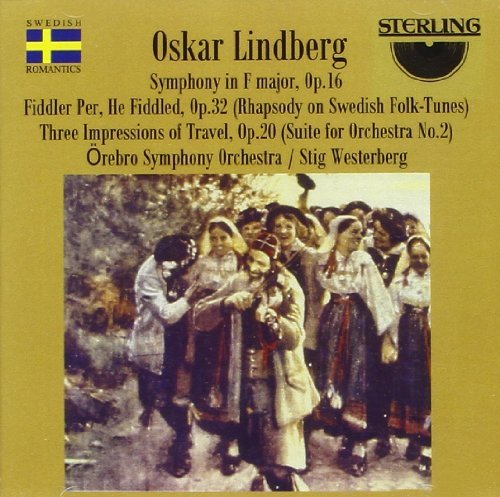 O. Lindberg Sym Impressions Of Travel (3) Westerberg Orebro So