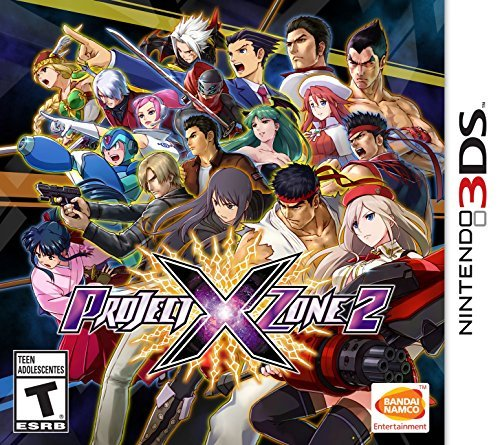 Nintendo 3ds Project X Zone 2 Project X Zone 2