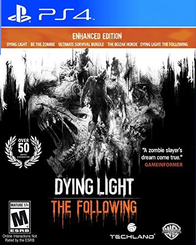 Ps4 Dying Light Following Enhanced Edition