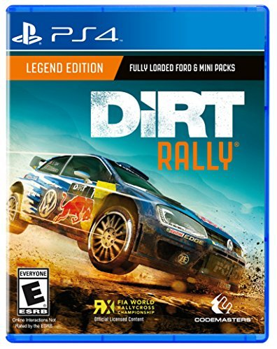 Ps4 Dirt Rally (launch Sku)