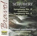F. Schubert Sym 8 9 Dohnanyi Cleve Orch
