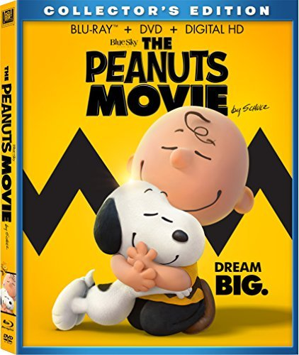 Peanuts Movie Peanuts Movie Blu Ray DVD Dc G