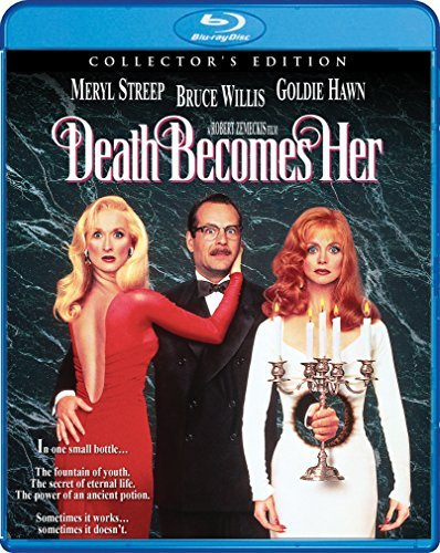 Death Becomes Her Willis Hawn Streep Blu Ray Pg13