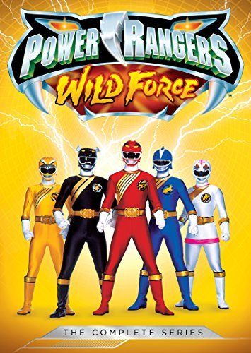 Power Rangers Wild Force Complete Series DVD