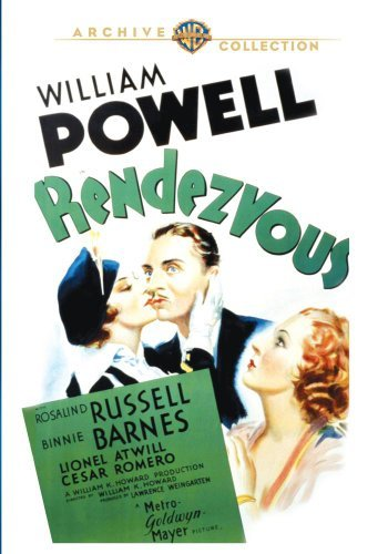 Rendezvous (1935) Powell Russell Barnes Made On Demand Nr