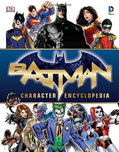Matthew K. Manning Batman Character Encyclopedia