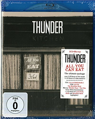 Thunder All You Can Eat Import Gbr Incl. Blu Ray