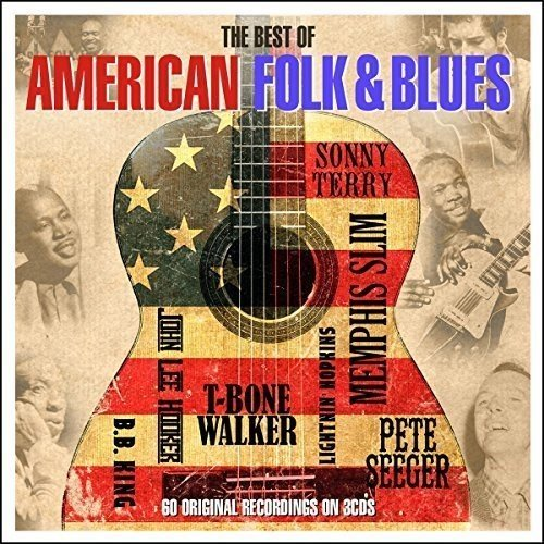 Best Of American Folk & Blues Best Of American Folk & Blues Import Gbr 3cd