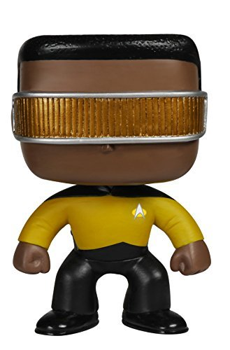 Toy Pop! Tv Star Trek The Next Generation Geordi L