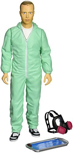 Action Figure Breaking Bad Jesse Pinkman In Blue Hazmat Suit 6 I
