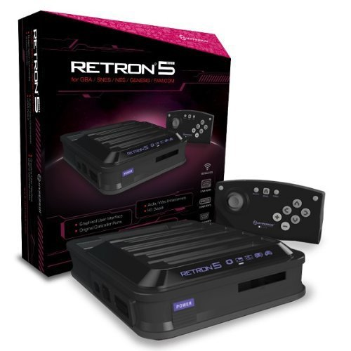 Retron 5 Hyperkin Gaming Console (black) Retron 5 Hyperkin Gaming Console (black)