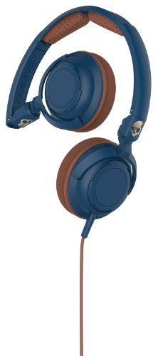 Headphones Lowrider Navy Brown Copper