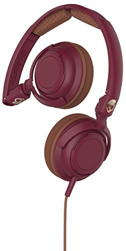 Headphones Lowrider Maroon Brown Copper