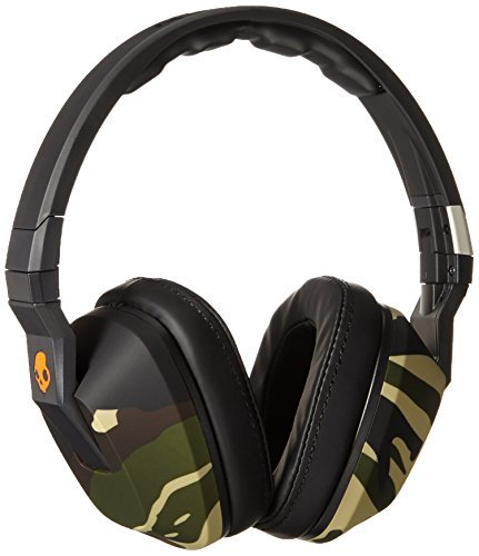 Headphones Crusher Camo Slate Orange