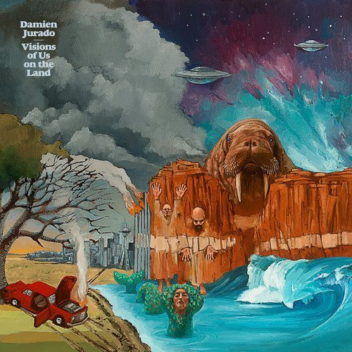 Damien Jurado Visions Of Us On The Land 3xlp Deluxe Edition Indie Exclusive Imp Gbr 3lp
