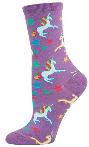 Socks Womens Crew Unicorn