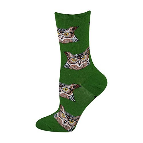 Socks Womens Crew Owlster