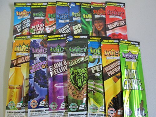 Juicy Blunts Black N' Blueberry 25 Display