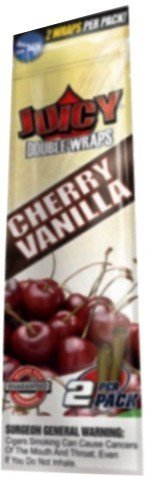 Juicy Double Wraps Cherry Vanilla 25 Display