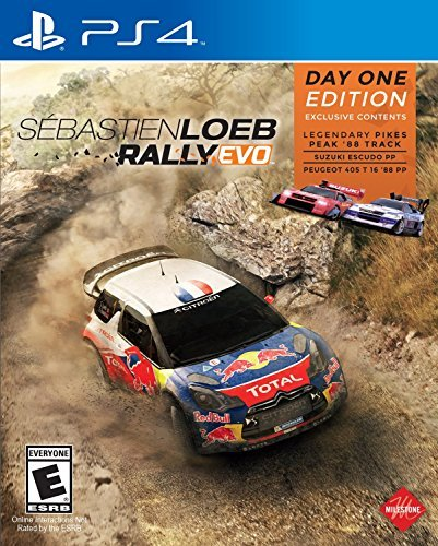 Ps4 Sebastien Loeb Rally Evo