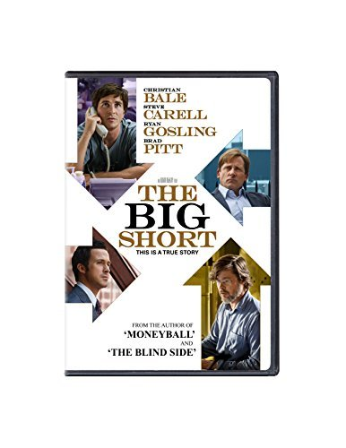 Big Short Bale Carell Gosling Pitt DVD R