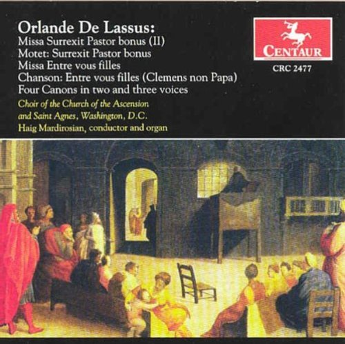 Orlande De Lassus Missa Surrexit Pastor Bonus Ii Church Of The Ascension & Sain