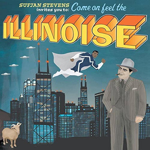 Sufjan Stevens Illinois Special 10th Anniversary Blue Marvel Edition 2xlp Blue White Vinyl Special Ed.