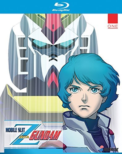 Mobile Suit Zeta Gundam Part 1 Blu Ray
