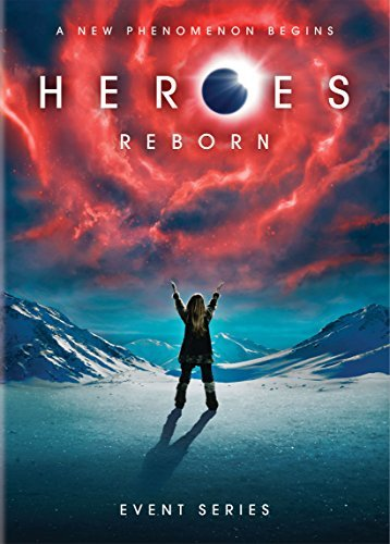 Heroes Reborn Event Series DVD