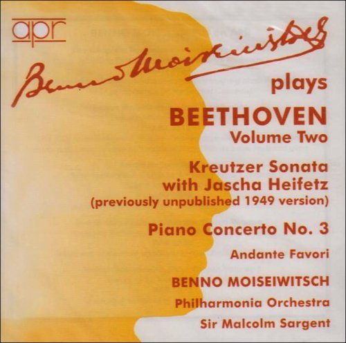 L.V. Beethoven Andante (f) Son Vn 9 (a) Con 3 Heifetz*jascha (vn) Sargent Po