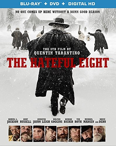 Hateful Eight Jackson Russell Leigh Blu Ray R