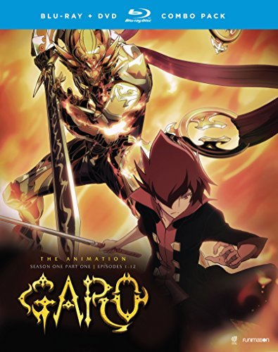 Garo The Animation Season 1 Part 1 Blu Ray DVD