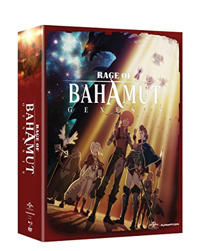 Rage Of Bahamut Genesis Complete Series Blu Ray DVD Limited Edition