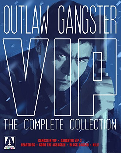 Outlaw Gangster Vip Collection Blu Ray DVD Nr