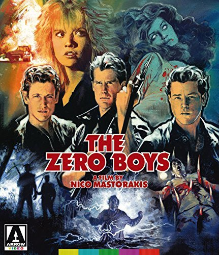 The Zero Boys Hirsch Maroney Phelan Blu Ray DVD R