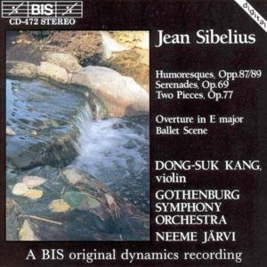 J. Sibelius Works For Vn & Orch Kang*dong Suk (vn) Jarvi Gothenburg So