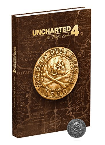 Prima Games Uncharted 4 A Thief's End Collector's Edition Strategy Guide