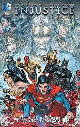Brian Buccellato Injustice Gods Among Us Year Four Vol. 1