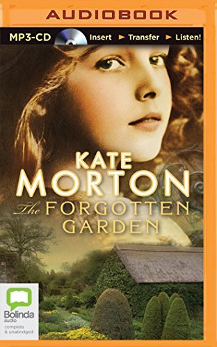 Kate Morton The Forgotten Garden Mp3 CD