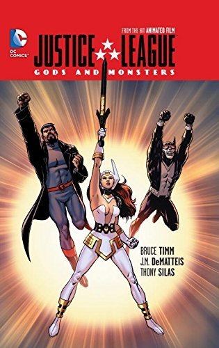 Paul Dini Justice League Gods And Monsters