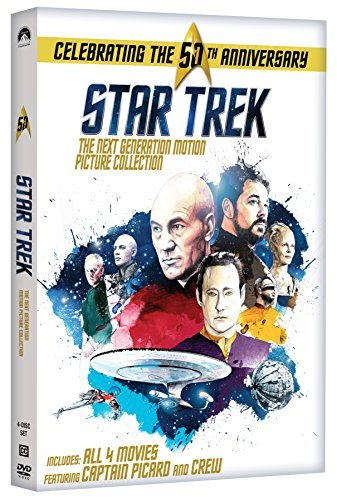 Star Trek Next Generation Motion Picture Collection DVD