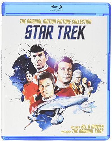 Star Trek Original Series Motion Picture Collection Blu Ray